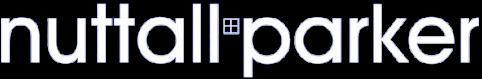 Nuttall Parker Logo White Transparent